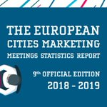 Image for the Tweet beginning: New ECM Meetings Statistics Report