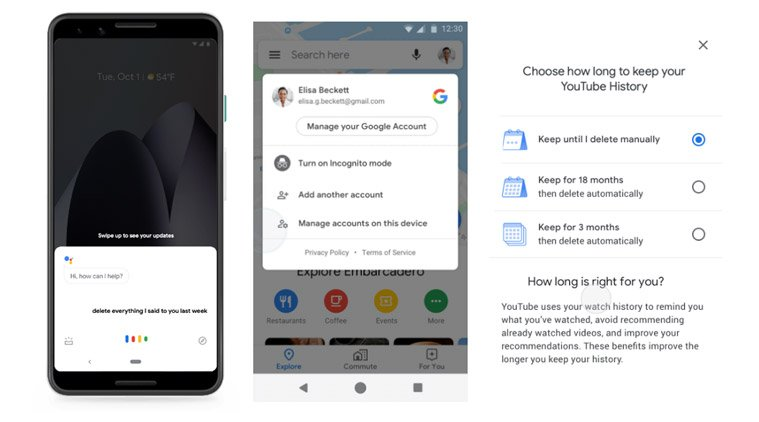 #GooglePrivacy: Incognito mode on Maps, auto-delete for YouTube search and password checkup in Chrome announced indianexpress.com/article/techno…