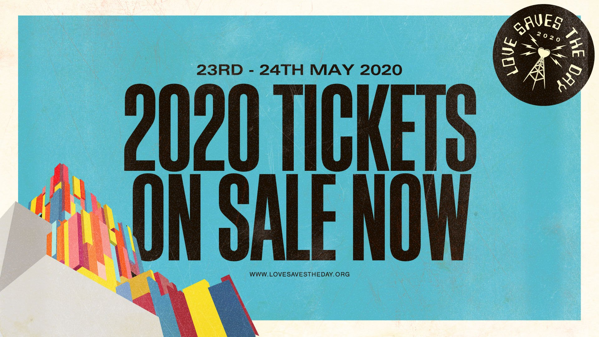 Love Saves the Day 2020 tickets