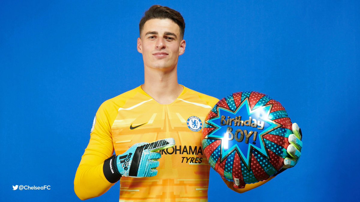 🎈 Have a great birthday, @kepa_46! 🥳