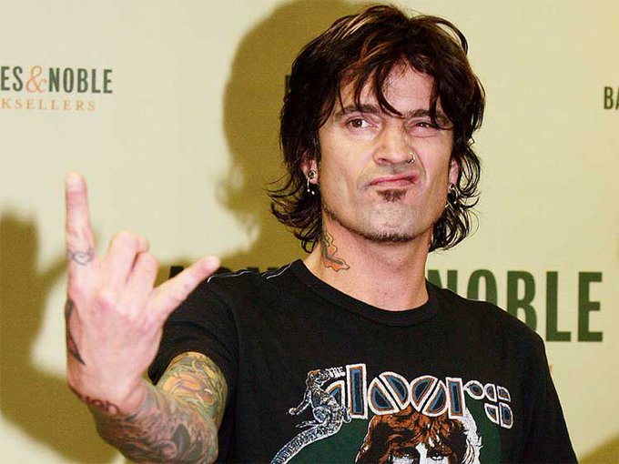 Happy birthday to Tommy Lee!