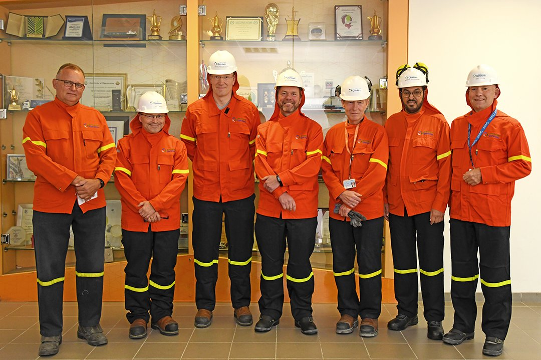 BoD visited Qatalum plant at Mesaieed.