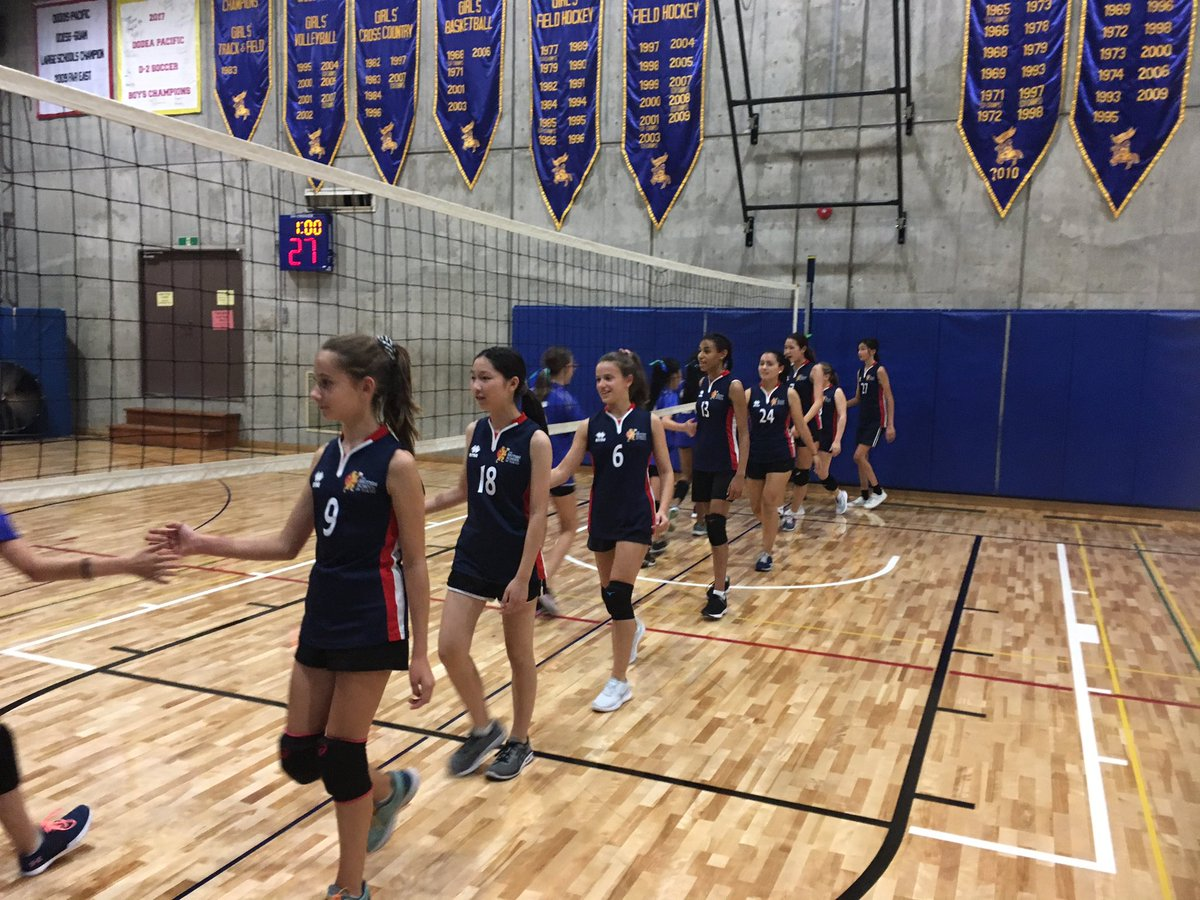 """BST Sport on Twitter: """"Fantastic team spirit and energy from our MS Girls B Volleyball  team beating CAJ C 2-0 (25-23/25-18) @BST_Sport @BST_Secondary  @BST_Tokyo1920… https://t.co/RHU0YOug6F"""""""