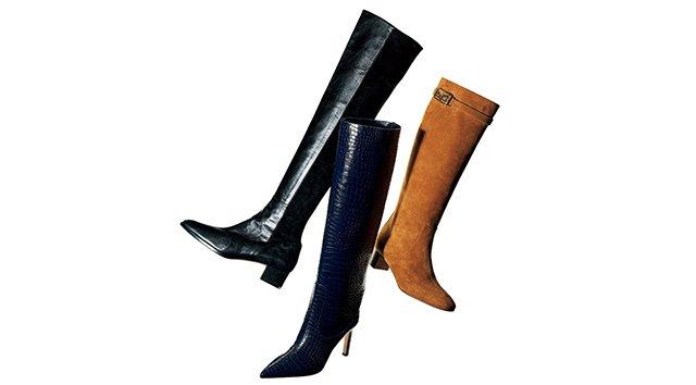 復活が待ち望まれていたロングブーツがついに、本格的なカムバックを遂げました!特にこの秋は、ロングブーツを長め丈のスカートに合わせると優雅な印象に。そこで今回は、『プレシャス』が厳選したロングブーツをご紹介します。 ▶ #ロングブーツ #ファッション #美シルエット