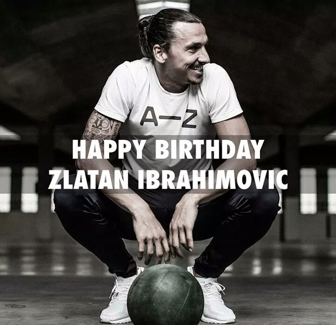 Zlatan Ibrahimovic to one of the Greatest Goalscorers of All time! Happy Birthday!