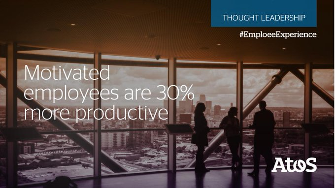 #EmployeeExperience and engagement are not just a #HR matter. It should be an embedded,...