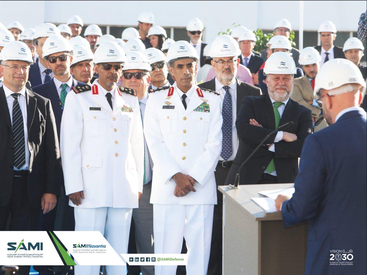سامي نافانتيا للصناعات البحرية تطلق أعمال تشييد أول فرقاطة حربية لصالح القوات البحرية الملكية السعودية في كاديز الإسبانية EF8m5PRWoAIt1Gq