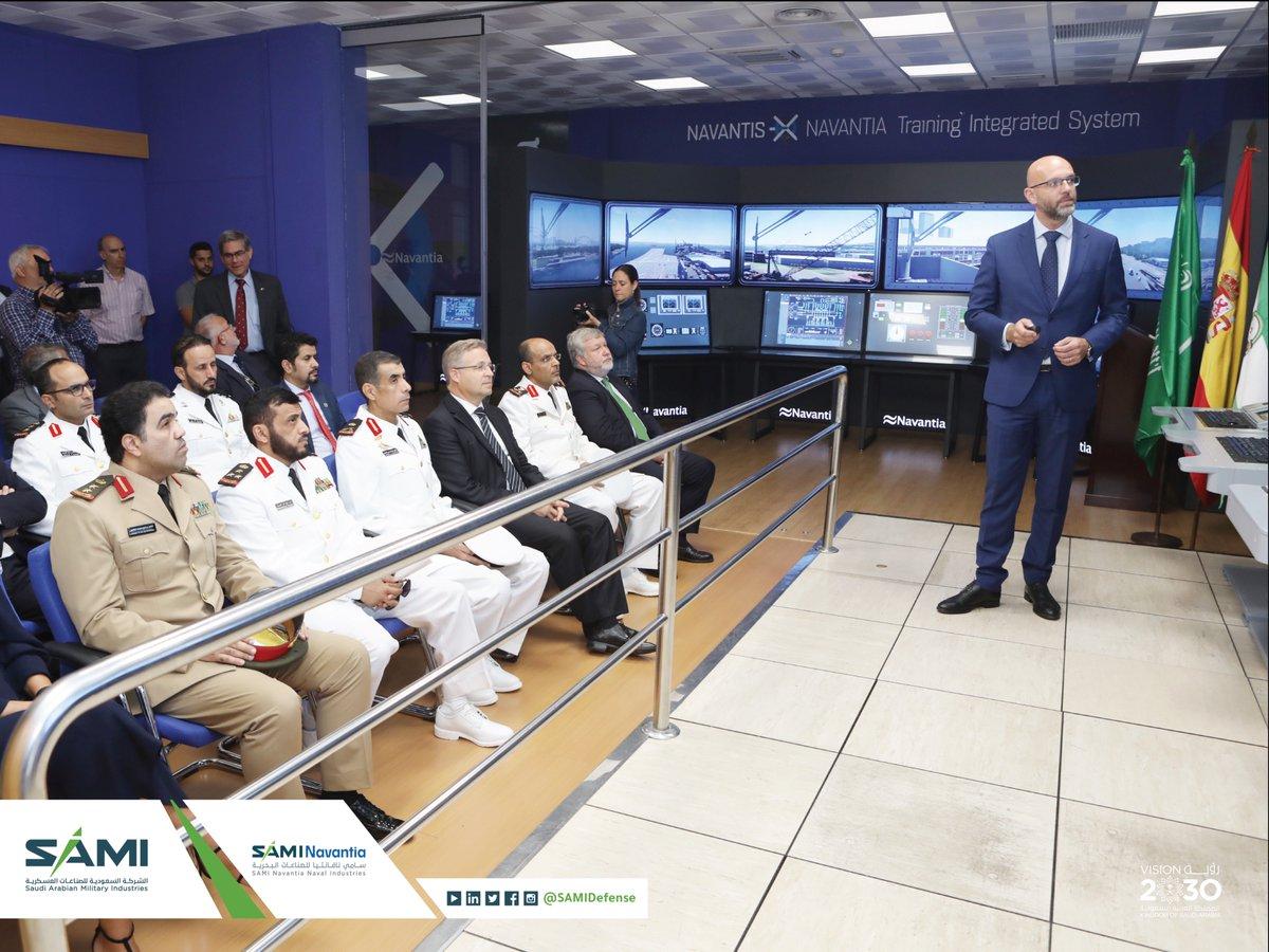 سامي نافانتيا للصناعات البحرية تطلق أعمال تشييد أول فرقاطة حربية لصالح القوات البحرية الملكية السعودية في كاديز الإسبانية EF8m5aPW4AAT7C5