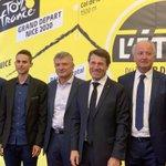 Image for the Tweet beginning: Les coureurs professionnels niçois sont
