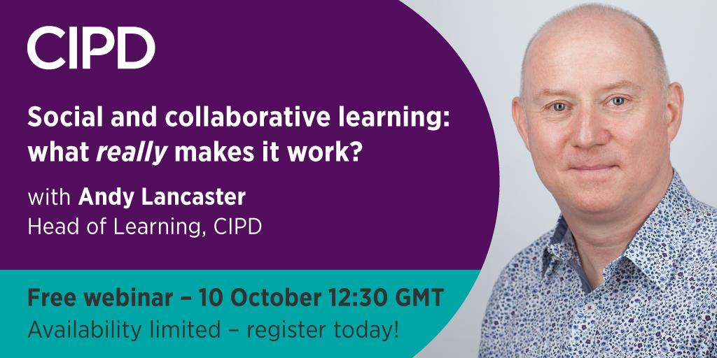 """Last few places remain for our FREE #webinar with @AndyLancasterUK where he plans to share exclusive new thinking about what underpins vibrant learning communities from his forthcoming book, """"Driving Performance Through Learning"""". Sign up today: ow.ly/Fhvc50wzwGX"""
