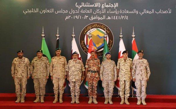 عاجل اجتماع استثنائي لرؤساء أركان دول مجلس التعاون في الرياض EF9-YsLWwAEU7Fw