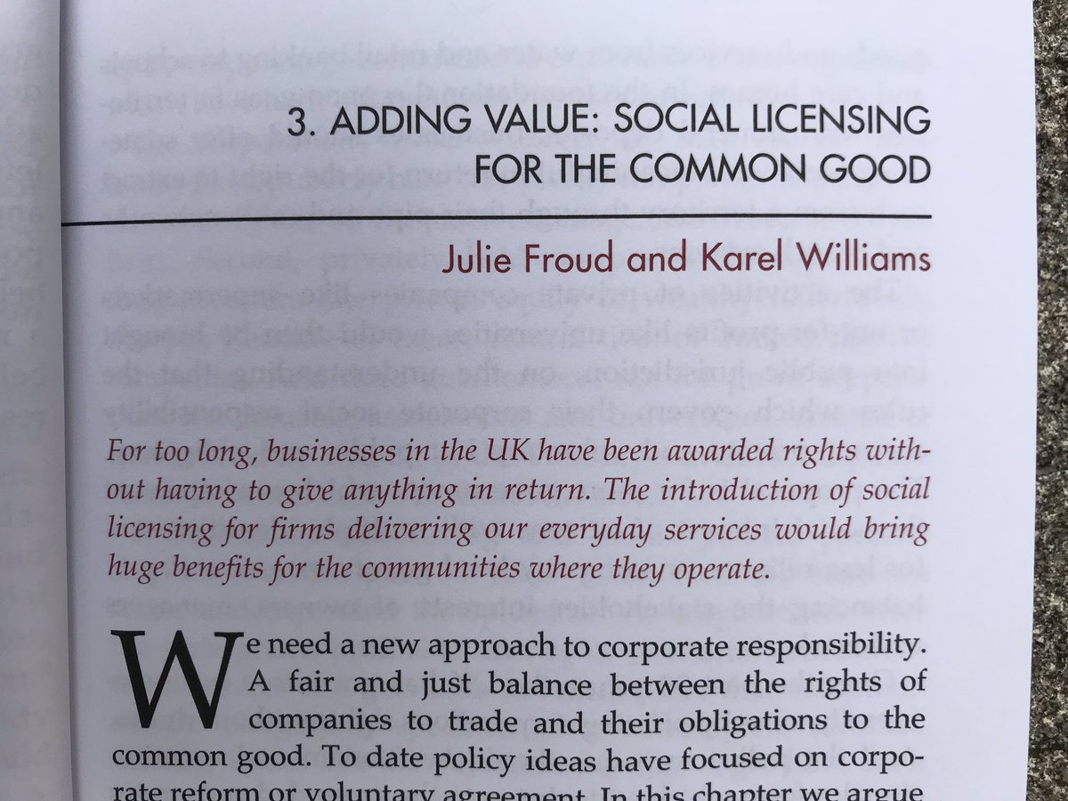 """Am really liking this idea by Julie Froud & Karel Williams @AllianceMBS, in latest fab @thefabians booklet, """"Everyday Socialism"""", ed @RachelReevesMP"""
