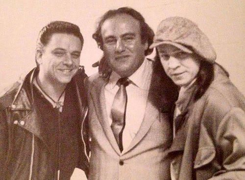 Happy birthday to the great Stevie Ray Vaughan, pictured here with brother Jimmie and Clifford Antone.
