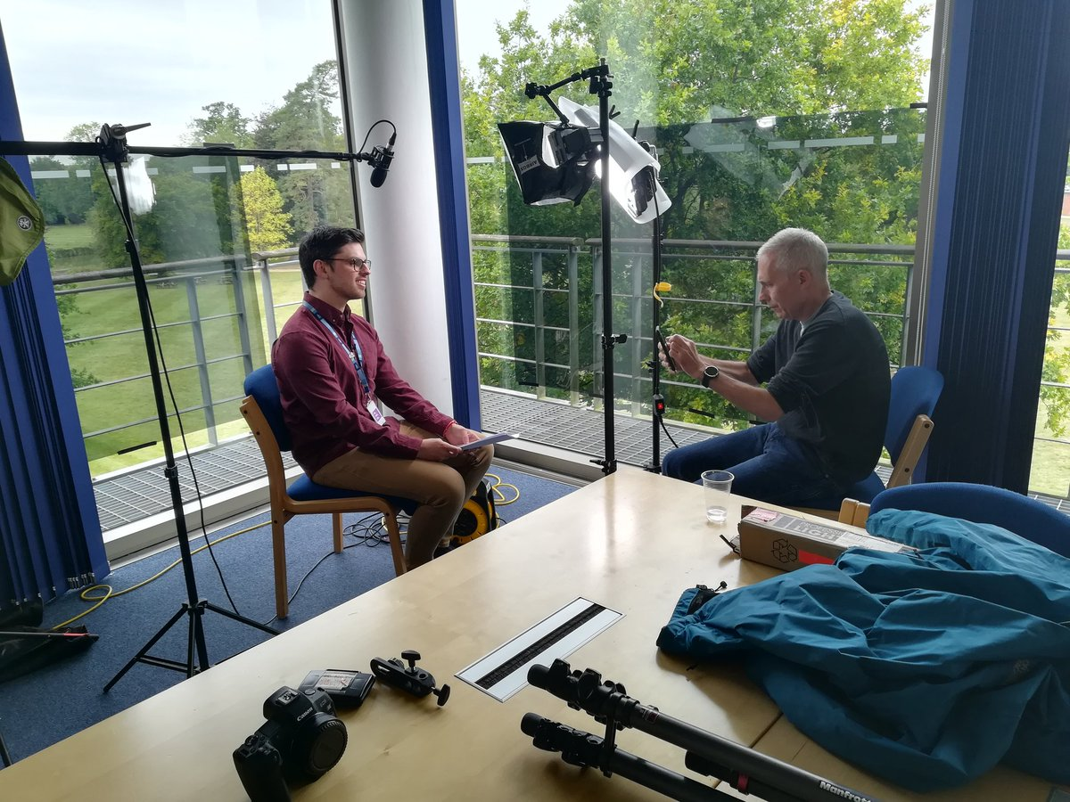 Had a great time interviewing Sir Jim Smith, on behalf of @CampusLgbtq, on his work as an ally and supporting equality and diversity. Interview to come soon from @EqualityScience !