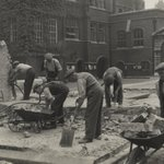 Image for the Tweet beginning: Removing the air raid shelter