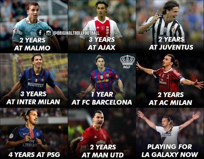 Happy Zlatan Ibrahimovic to the Birthday.