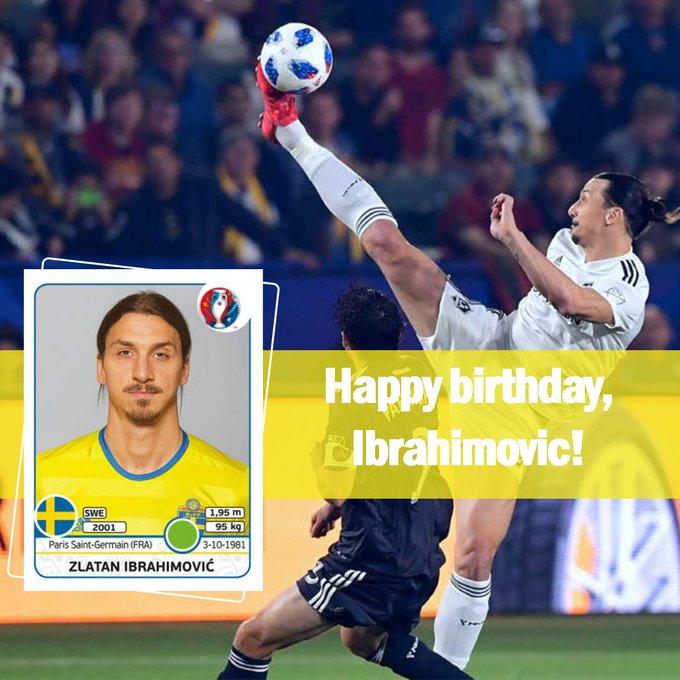 Happy birthday to Zlatan or happy Zlatan to birthday?