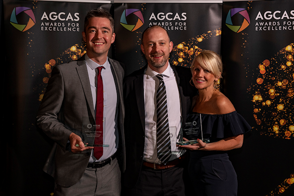 Huge congratulations to our @livunicareers team, who have received the @AGCAS Building Effective Partnerships Award 2019! 🙌 The team were awarded in collaboration with Newcastle University for the delivery of the Amsterdam Sustainable Business Challenge bit.ly/2oRu86E
