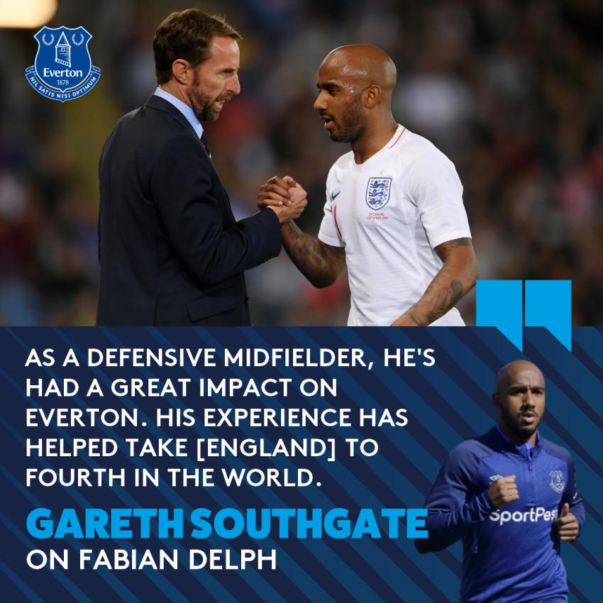 @JPickford1 @michaelkeane04 @UEFAEURO @England 🙌 | A well-deserved @England recall! Good luck, Fabian! #EFC 🔵
