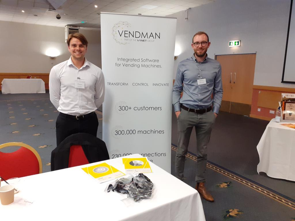 Latest additions to the Smart Machines family flying the flag at @NIVOLtd today; come and say hello if you haven't already 👋🏻 @VendmanSystems https://t.co/OizdeoSxTE