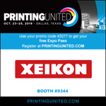 Image for the Tweet beginning: Visit us at #PRINTINGUnited, Booth