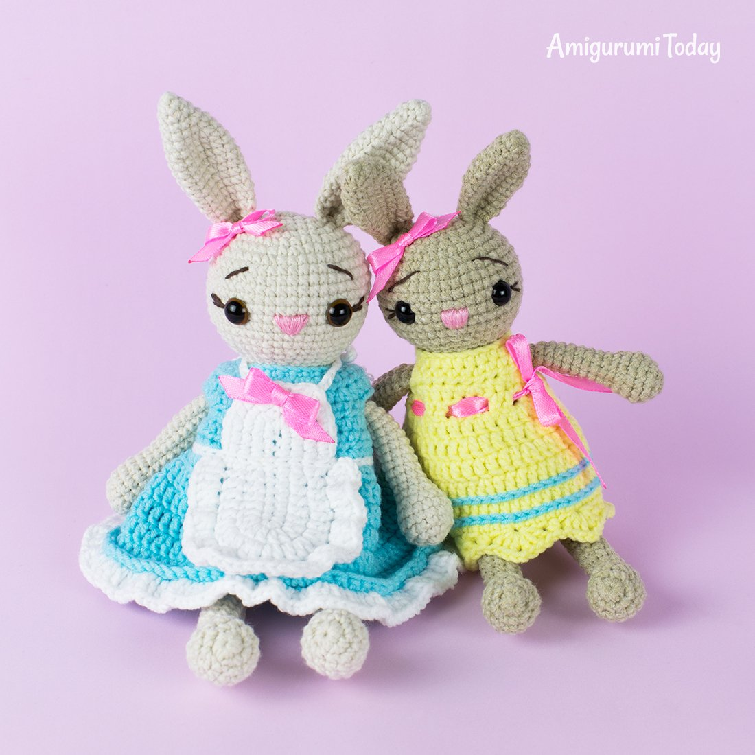 Tiny fox amigurumi pattern   Crochet bunny pattern, Amigurumi pattern   1100x1100