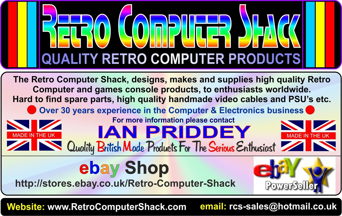 Retro Computer Shack On Twitter Thank You For Your Order Regards Ian