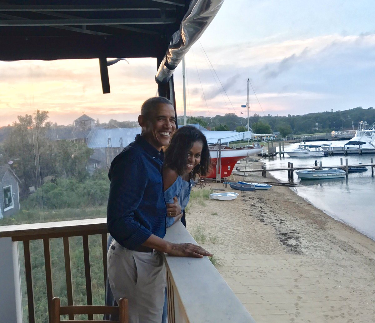 27 years ago, this guy promised me a life full of adventure. I'd say he's delivered. Here's to our next chapter of becoming empty nesters and discovering what's next—while still feeling the magic that brought us together all those years ago. Happy anniversary, Barack. https://t.co/ZKhvQGEo0B
