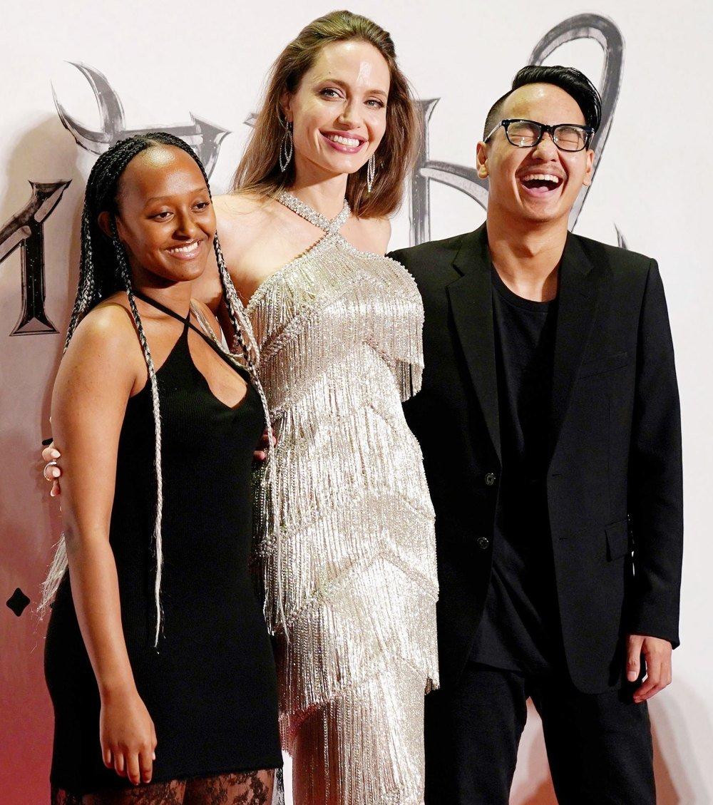 Angelina Jolie At Maleficent Mistress Of Evil Premiere
