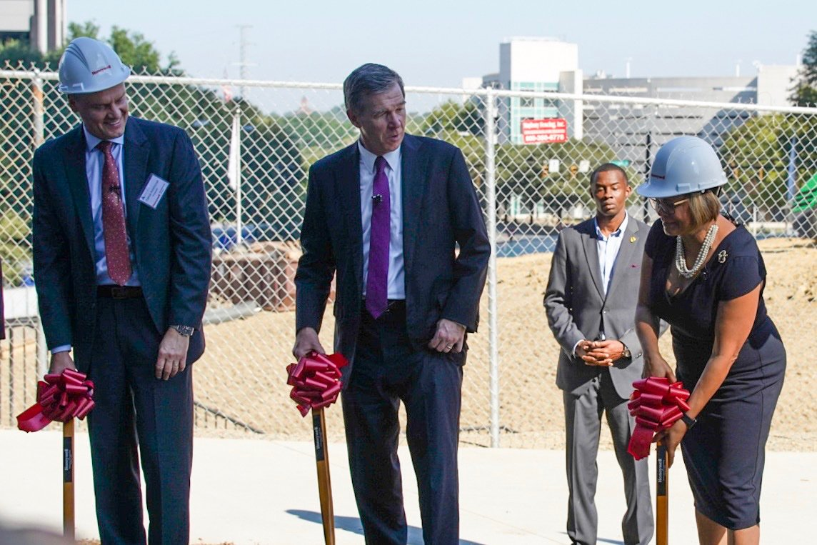 Shelco is honored to be Joint venturing with @GilbaneNC on @honeywell's new Headquarters. #buildingexcellence