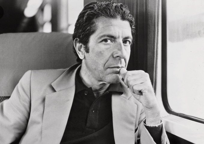 Happy birthday to Leonard Cohen.