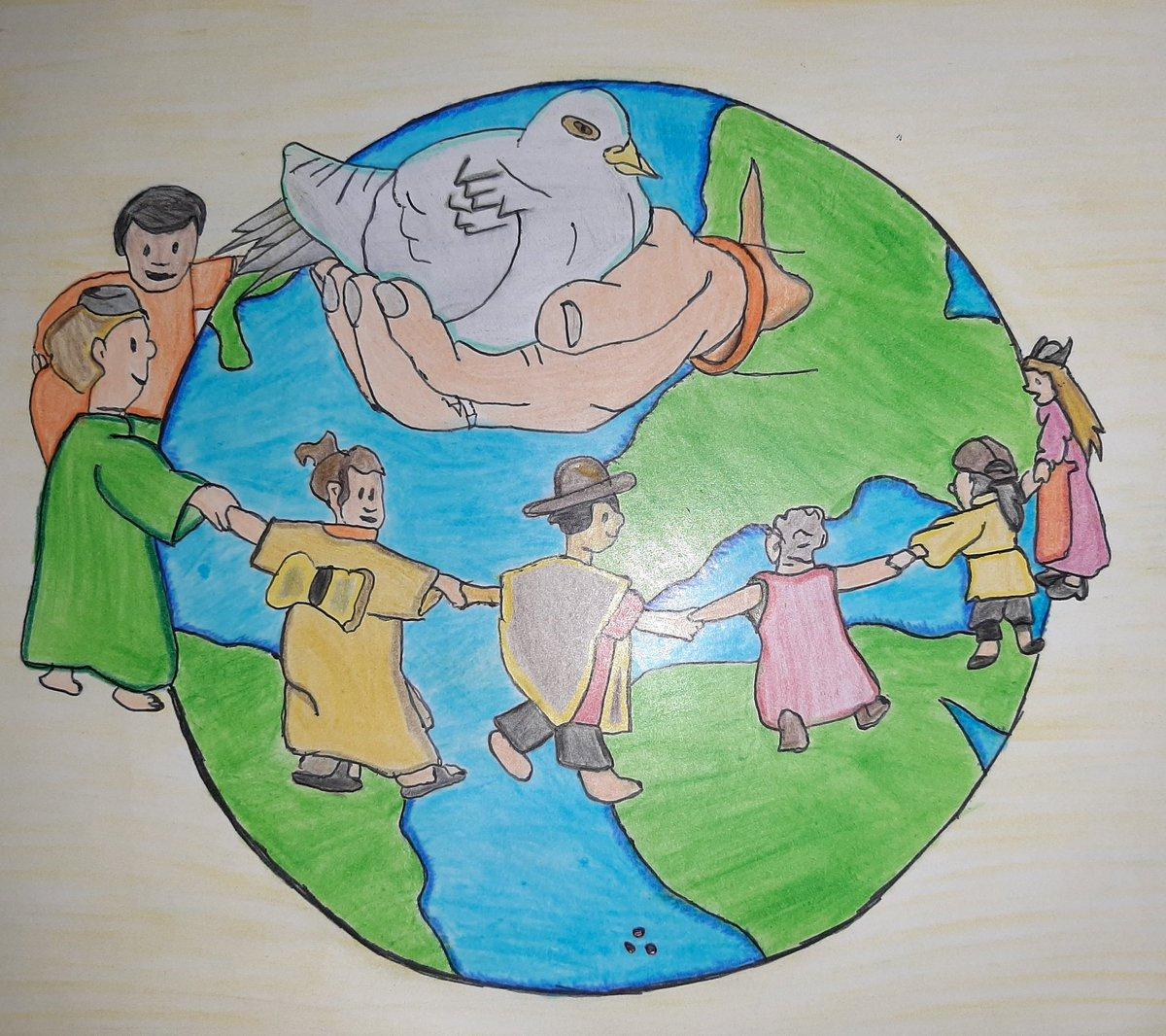 Cecyteh Zimapan On Twitter Paz2030 Dibujo Representando