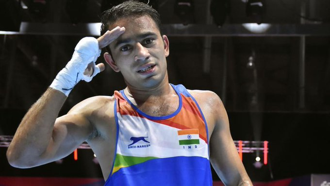 ✅Silver at World Boxing Championships✅First Indian to play finals of Worlds title✅Says will aim for the Gold in Tokyo Olympics 2020Congrats Amit Panghal. 👏💪🙏🇮🇳