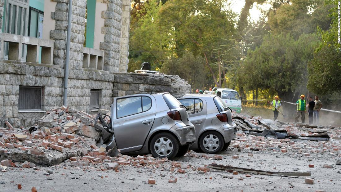 Albania struck by 5.6-magnitude earthquake, injuring at least 37 https://cnn.it/30AqY4I