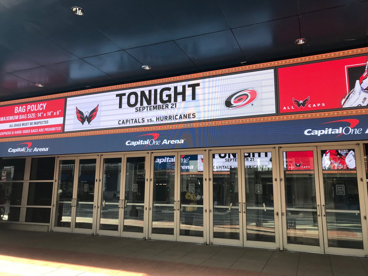 GameDay! Looking forward to handling pxp duties tonight @CapitalsRadio as #Caps host @CanesNHL at 7pm from @CapitalOneArena