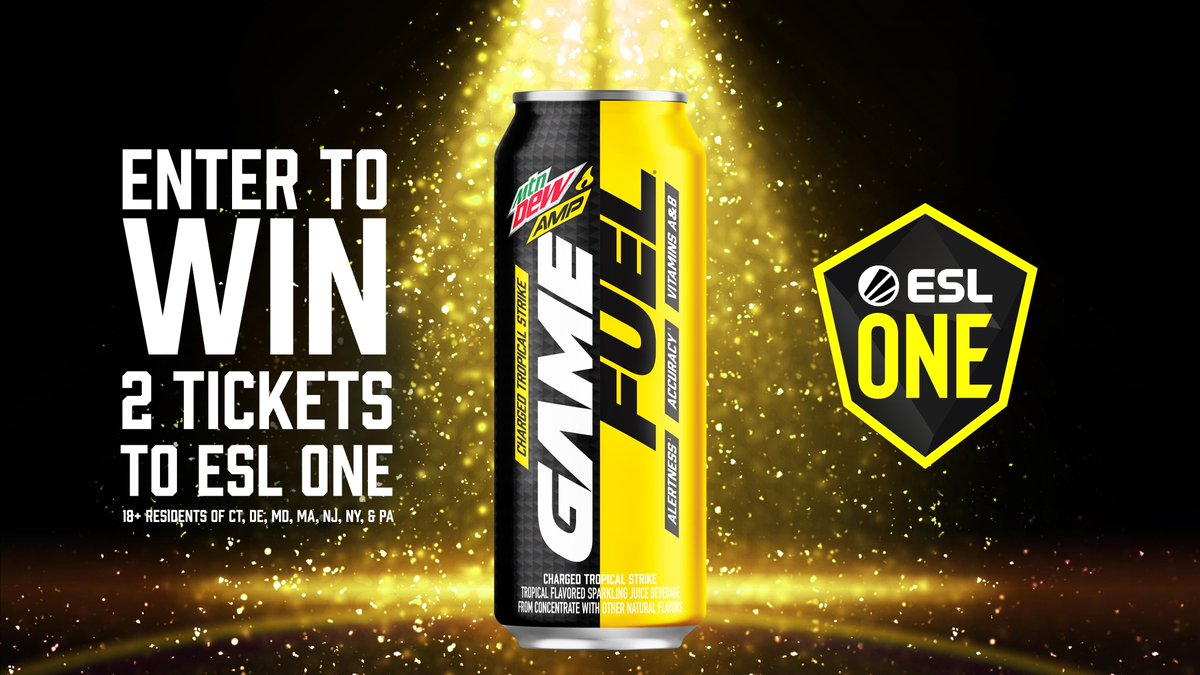 👏DON'T 👏SLEEP 👏ON 👏THIS 👏 Enter NOW for a chance to win 2 tix to #ESLONE New YorK 1 lucky winner gets 2 Weekend Premium tix, swag + more! TO ENTER: ☑️ Follow @GameFuel ☑️ Retweet with #GameFuelSweepstakes Sweeps end 9/23 - GLHF! RULES: bit.ly/30FBV4O