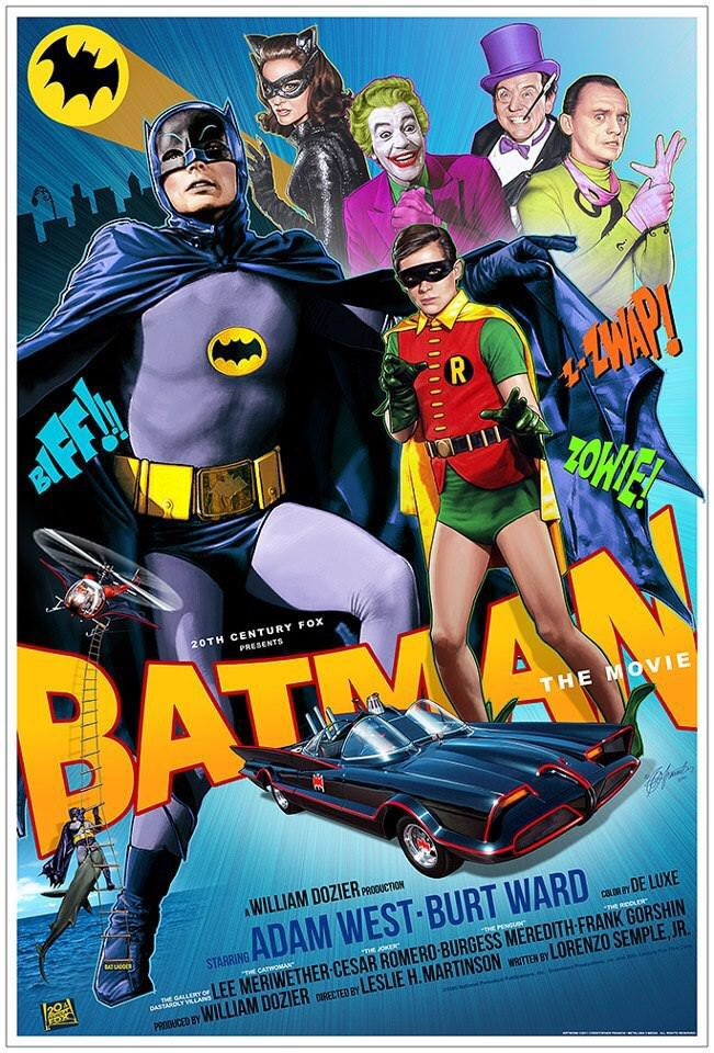 The only Batman movie you really want to see more than once. #BatmanDay 🦇
