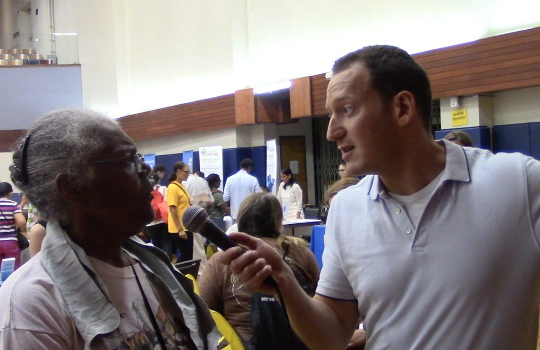 Video: Communing with boomers at an expo for senior citizens buff.ly/30kFCke