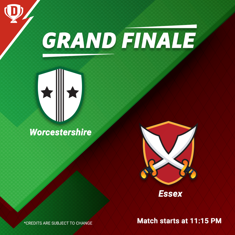 Hurry! The Semi-Finals are over & it's time for the T20 Blast Finals. Create your #Dream11 for this game here - http://d11.co.in/EnglishT20#Blast19