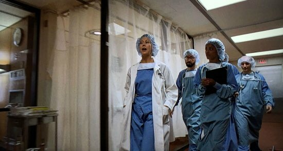 Nice cameos from Jenny Agutter and John Landis as doctors in Darkman.