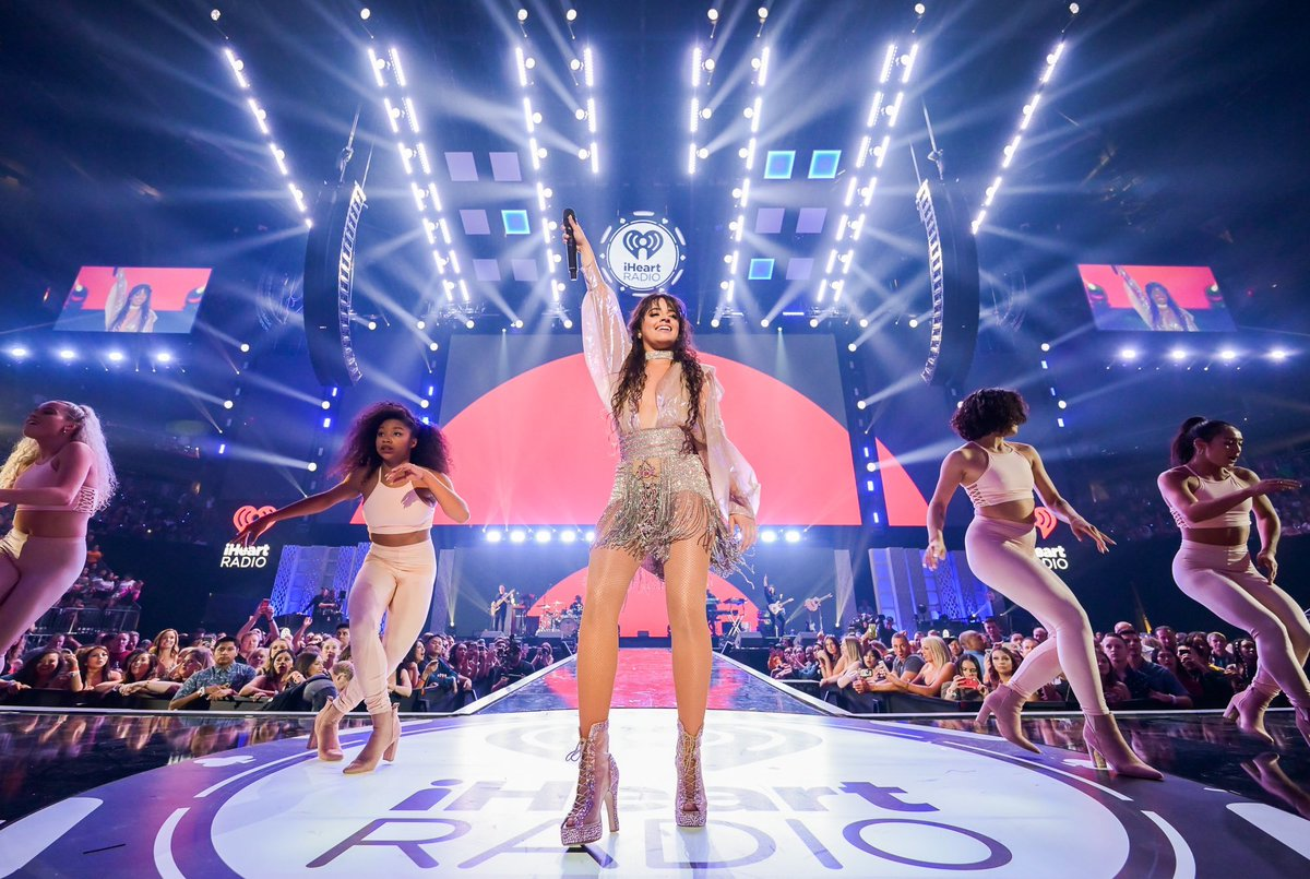 Check out @Camila_Cabello @halsey @OfficialMonstaX & @steveaoki at #iHeartFesitval2019 last night in Las Vegas! ❤️ @iHeartRadio