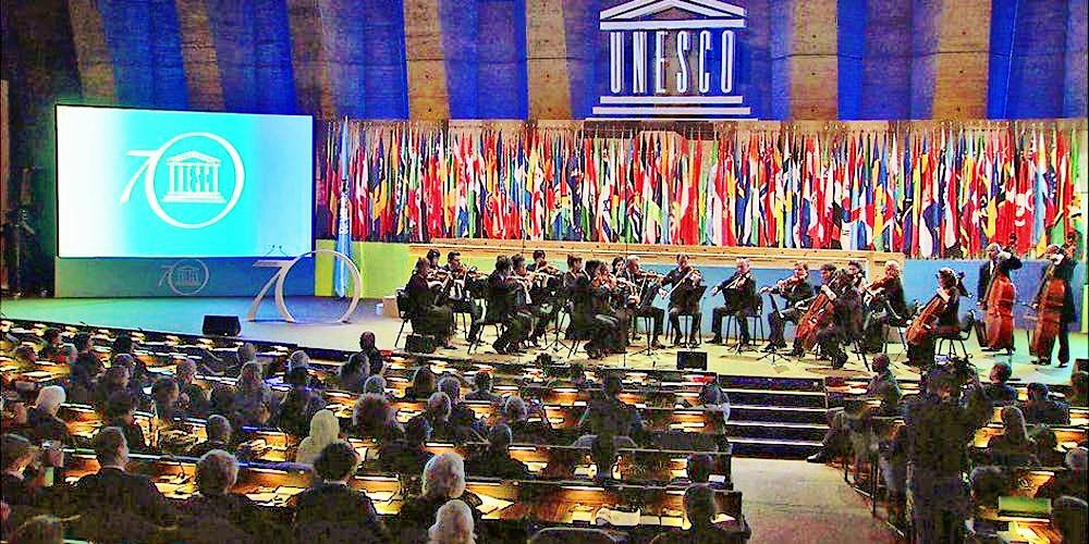 "On World #PeaceDay, I am so grateful to be hearing the World Orchestra for Peace this evening. As Leonard Bernstein beautifully states: ""This will be our reply to violence: to make music more intensely, more beautifully, more devotedly than ever before."" #DropBeatsNotBombs 🕊"