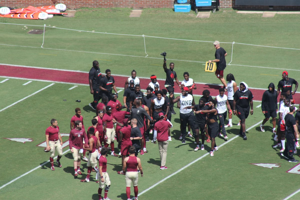 Florida State, Louisville Players Get Into It Pregame