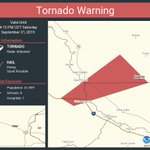 Image for the Tweet beginning: Tornado Warning including Duelm MN