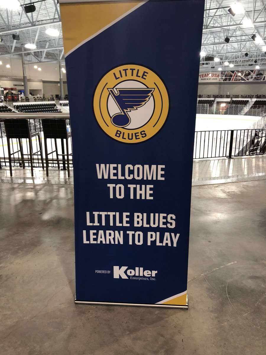 The biggest reason for fighting for 4+ years to make @STLCIC happen -- to grow the game!!!! Lil Blues learn-to-play fittings today for the boys AND girls who cant wait to take to the ice!!!! Thanks @StLouisBlues, @PureHockey and @CCMHockey