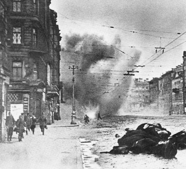 Despite Hitler's decision to avoid frontal assault on Leningrad, Luftwaffe have launched a massive bombing raid on encircled city; approximately 1000 Soviet civilians killed.