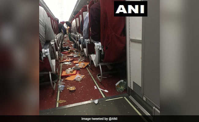 Air India plane struck by thunder, crew members injured.https://www.ndtv.com/india-news/air-india-plane-struck-by-thunder-crew-members-injured-2104989…