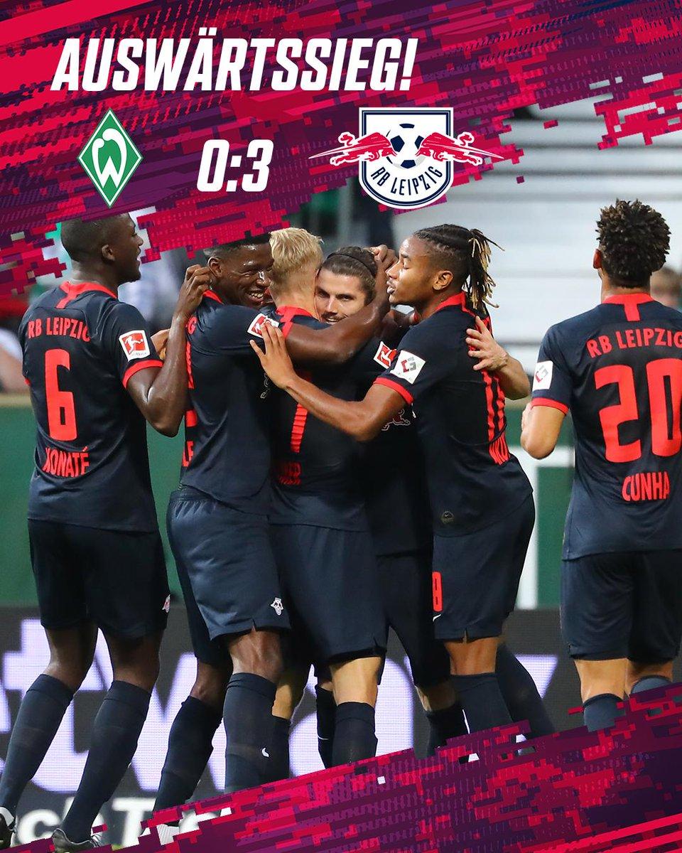 BL : le RB Leipzig écrase le Werder Brême