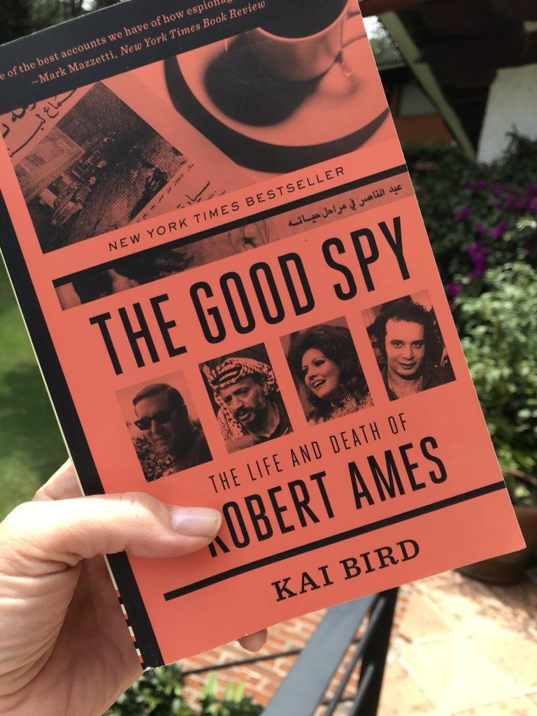 Este fin toca The Good Spy. Amor profundo por las historias de espías. (Mira @davidluhnow, del club de lectura ;) )