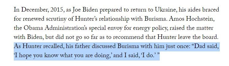 Biden Says He Never Discussed Hunter Biden's Ukraine Deal. Hunter Says He Did